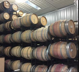 2015 Barrels after Completing Malolactic Fermentation