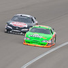 Oh, yea, there was some racin' going on.  Here's Danica...