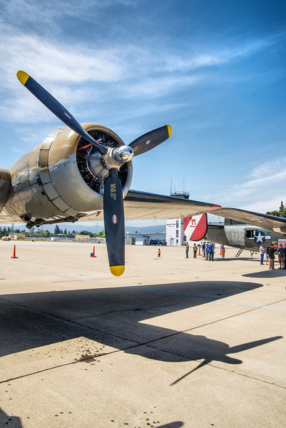 Propeller Detail, Boeing B-17G Flying Fortress