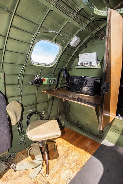 Radio Operator's Position, B-24J Liberator