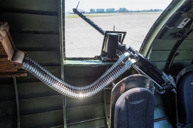 Waist Gunner Position, Boeing B-17G Flying Fortress