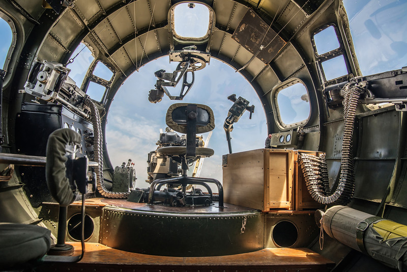 Bombardier's and Navigator's Positions, Boeing B-17G Flying Fortress
