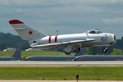 Mikoyan-Gurevich MiG-17 N217SH 5-13-17