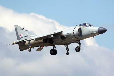 British Aerospace Sea Harrier FA2 XZ439 N94422 5-13-17 2