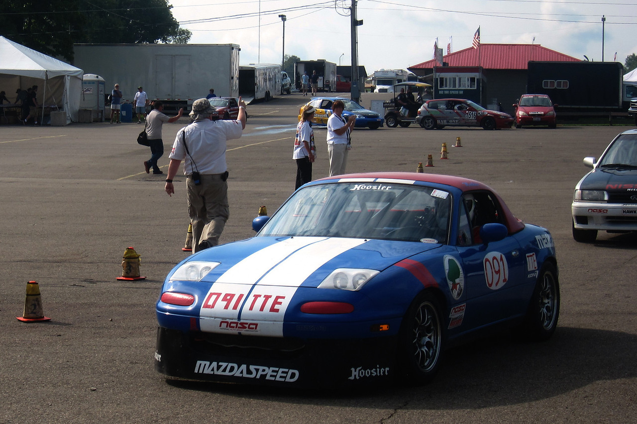 After two years at Miller Motorsport Park in Utah, the NASA National Championships returned to MidOhio for 2011.  Luckily for me, MidOhio is a little closer to home than Utah.