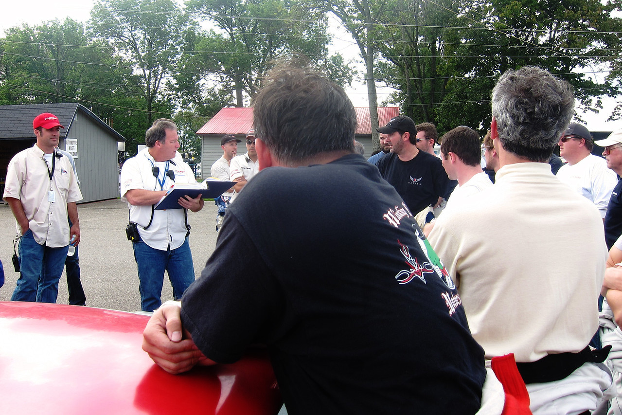 Of course in addition to drivers meetings we also had post session impound and possibly Tech inspections.  IE - more driver griping.  I was sent to Tech several times and made it through fine, including the one time I was only 1lb over minimum weight.
