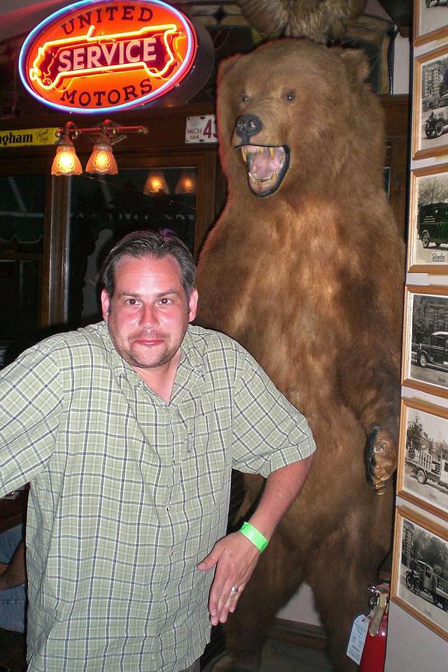 My bear imitation.