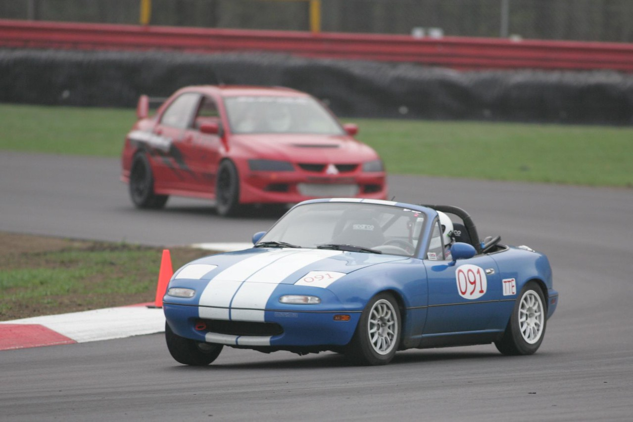 Here I am ahead of a 500hp Mitsu Evo, that didn't last for long.  (Photo credit: Impact Action Photos)