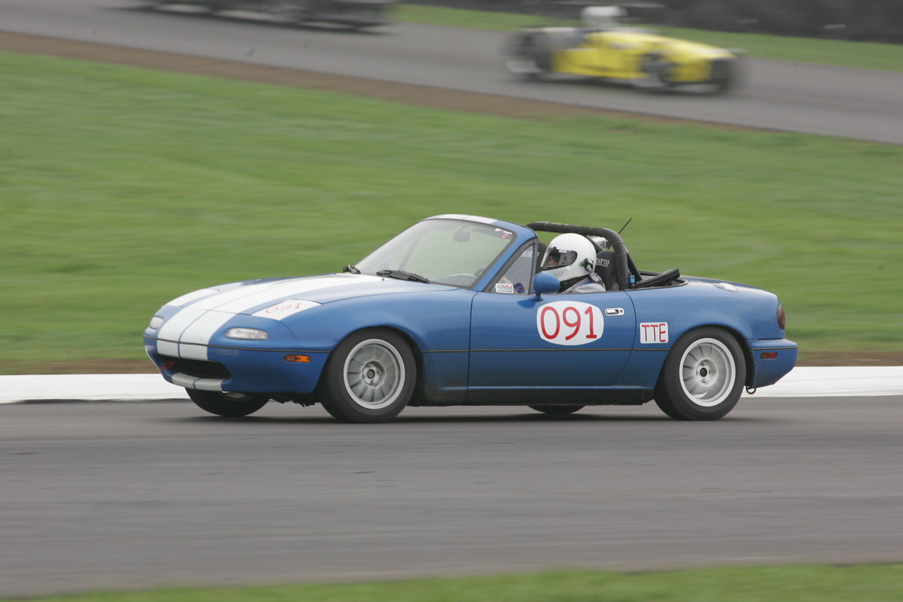 The Spec Miata race guys were running 1:48-1:55 so I'm right in the neighborhood I should be.  (Photo credit: Impact Action Photos)