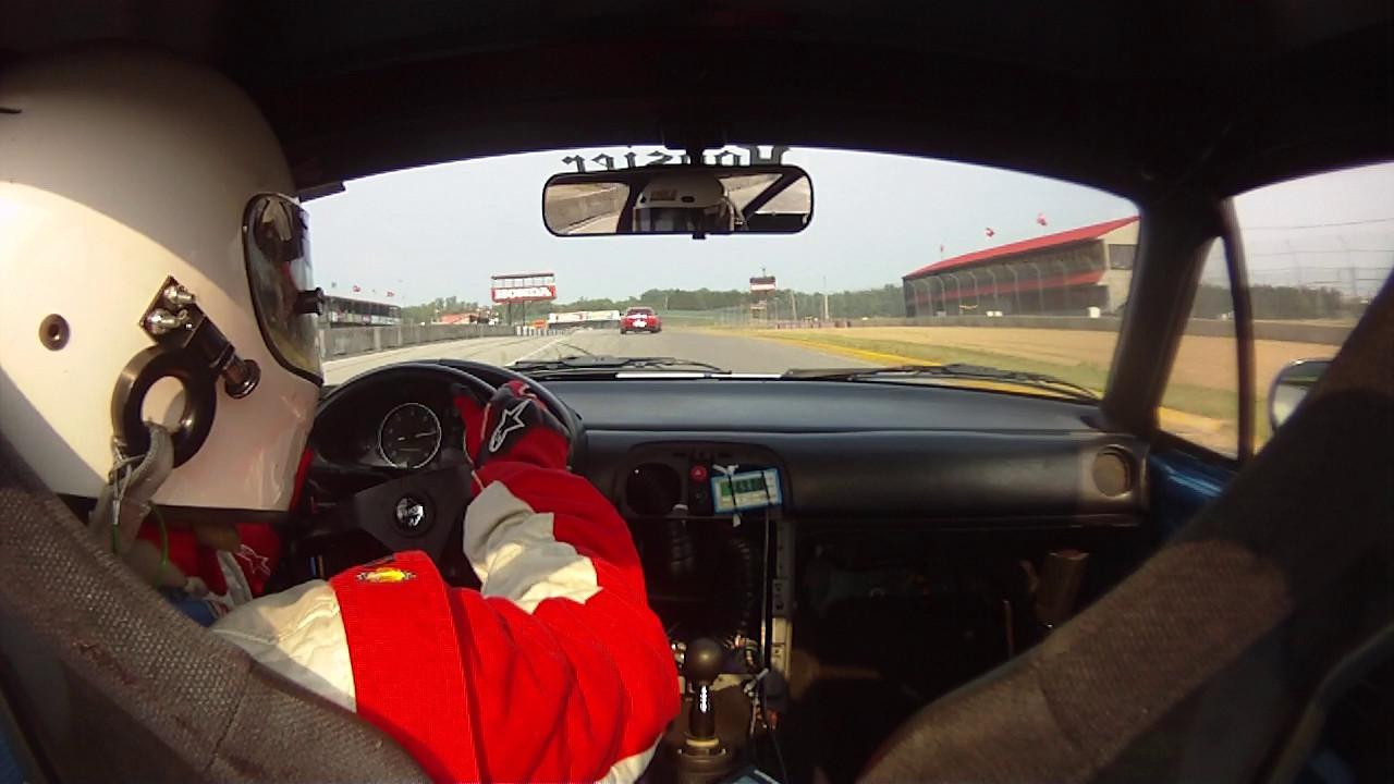 Following a TTD RX8 - watch for exhaust fireball.