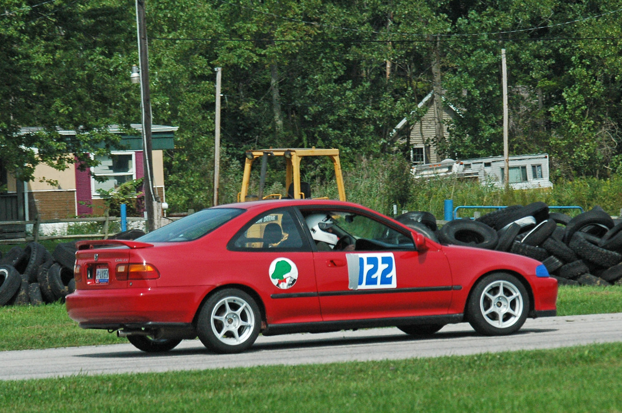 Mark K ended up finishing very well for his first time at Nelson and considering he was on street tires.
