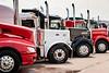 Big Rigs Big Hearts 2018 truck rally fund raising evet in Winkler, Manitoba, Canada.
