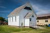 The United Church building at the Pembina Threshermen's Museum, Winkler, Manitoba, Canada.