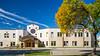 The Bergthaler Mennonite Church in Winkler, Manitoba, Canada.