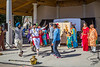 A re-enactment of a colorful Indian Wedding ceremony held at Culture Fest 2017 in Winkler, Manitoba, Canada.
