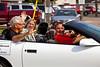The Mayor of Altona in the 2012 Harvest Festival street parade in Winkler, Manitoba, Canada.