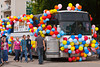 The 2012 Harvest Festival street parade in Winkler, Manitoba, Canada.