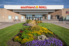 The Southland Mall front entrance in Winkler, Manitoba, Canada.