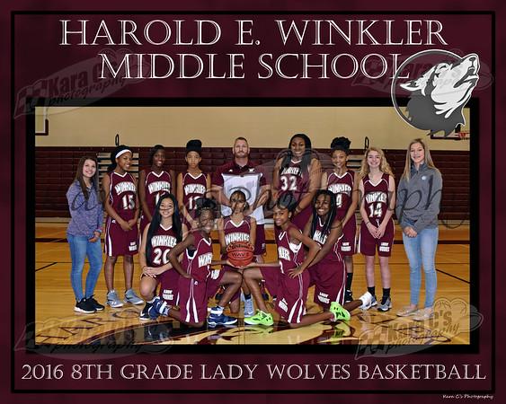 2016 8th Grade Girls