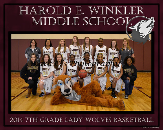 Spring 2014 Lady Wolves