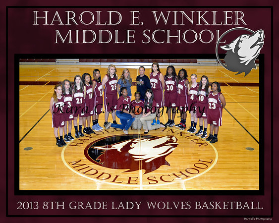 Winter 2013 Lady Wolves