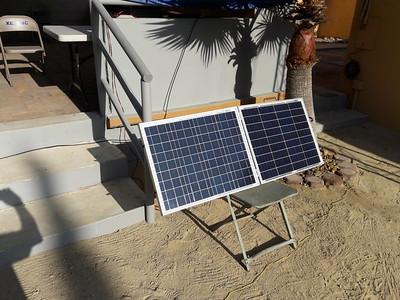 2 50 watt panels for station