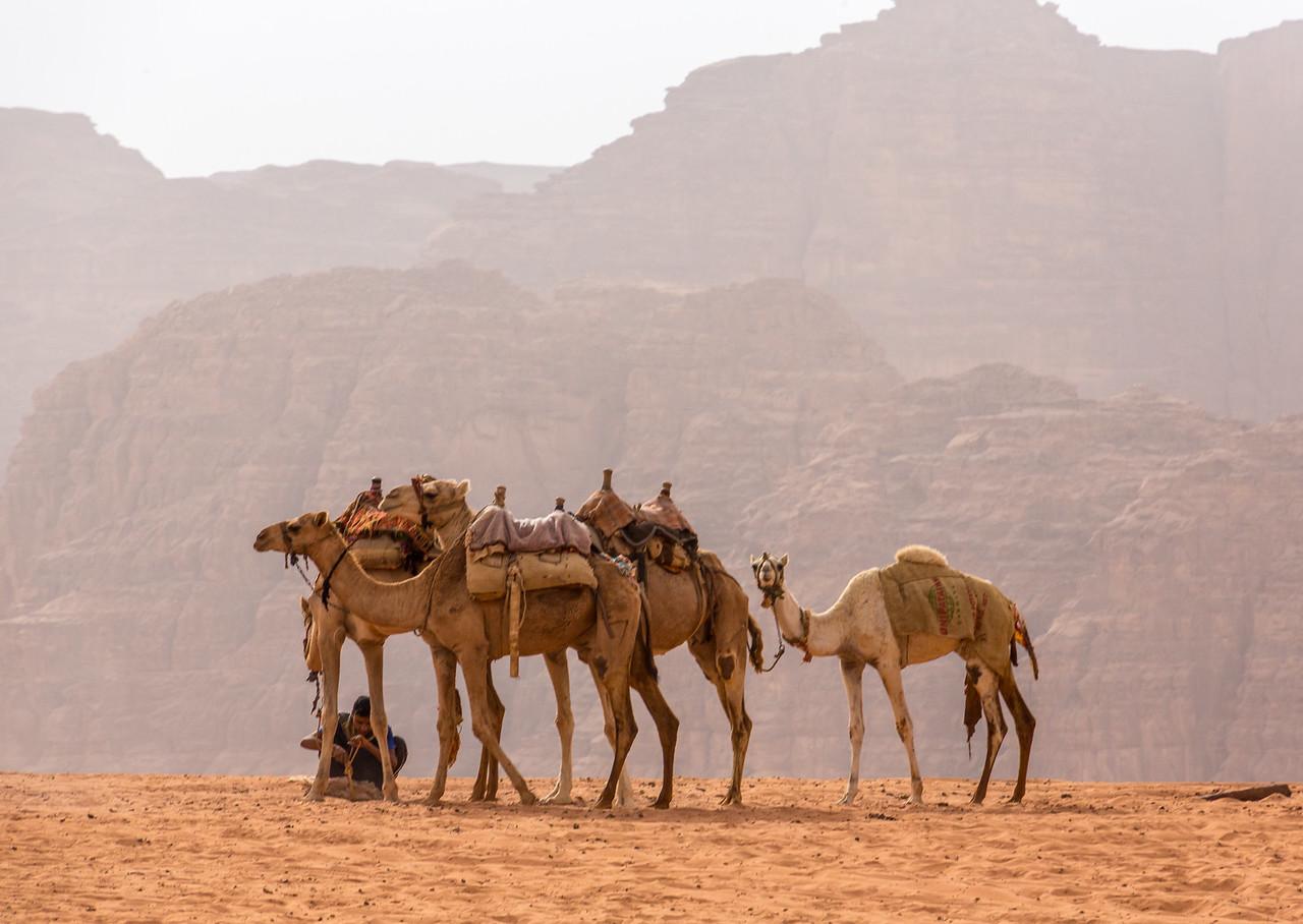 Wadi Rum hazy day