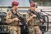 Anti-terrorism soldiers in Florence, Italy