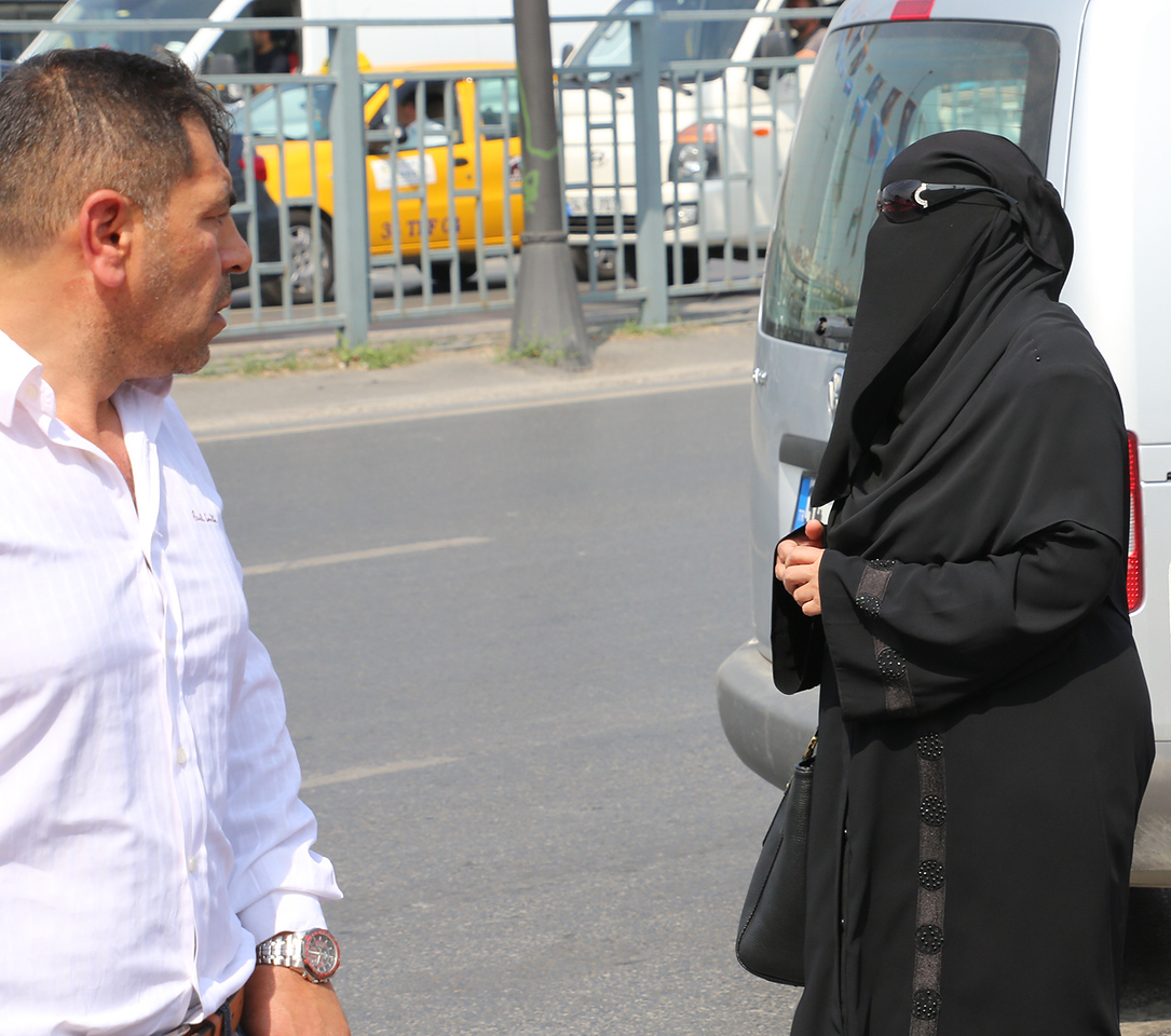 Istanbul veil
