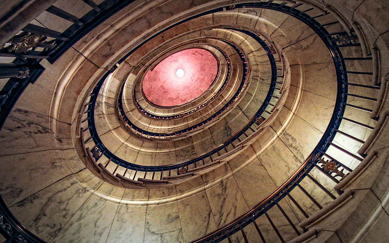 Capitol Stairwell