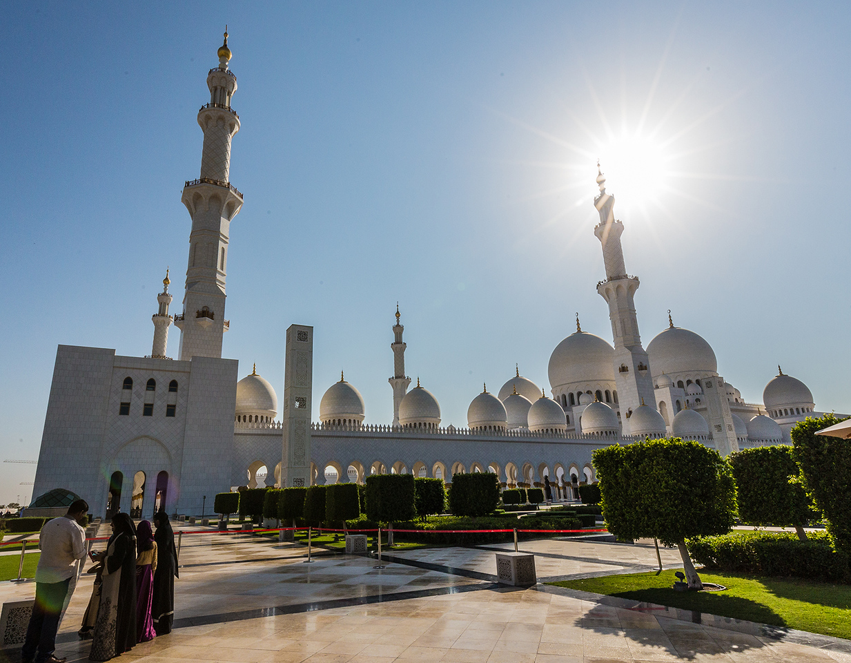 Abu Dhabi's Grand Mosque