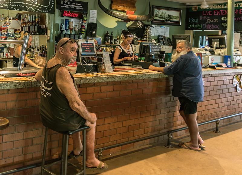The Humpty Doo Tavern in Australia