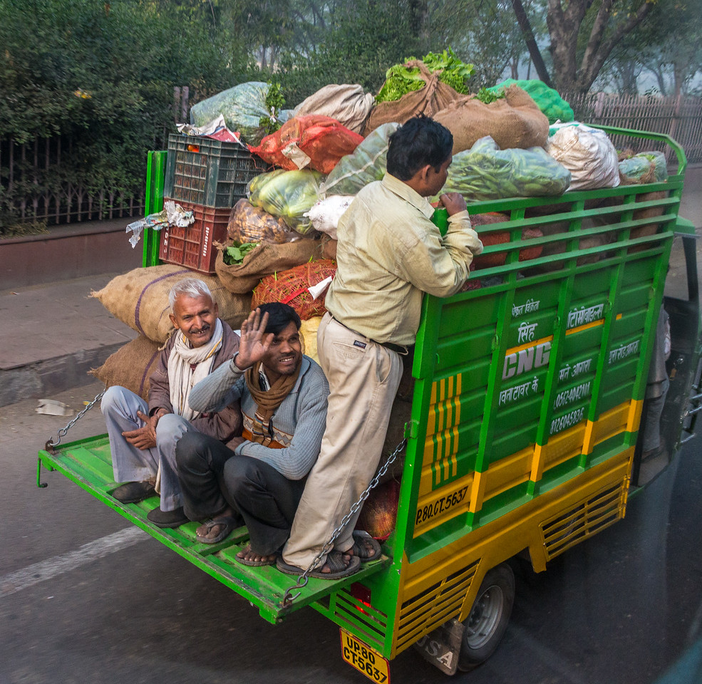 Crowded Truck