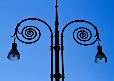 Florence street lights