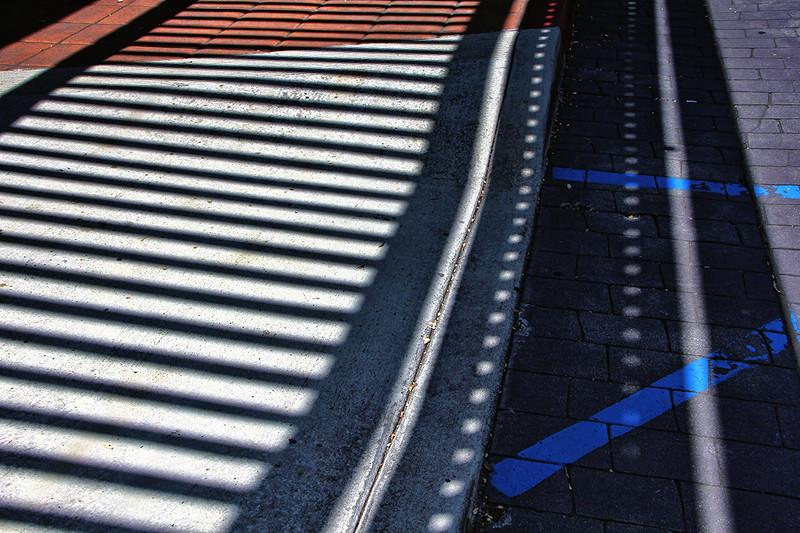 Sidewalk Shadows and Light