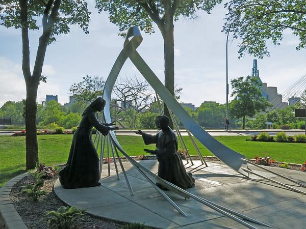 Grey Nuns Commemorative Monument