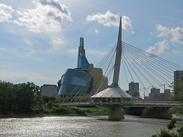 Canadian Museum for Human Rights and Esplanade Riel
