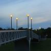 Footbridge Over William Clement Parkway
