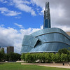 Canadian Museum for Human Rights and Downtown Winnipeg