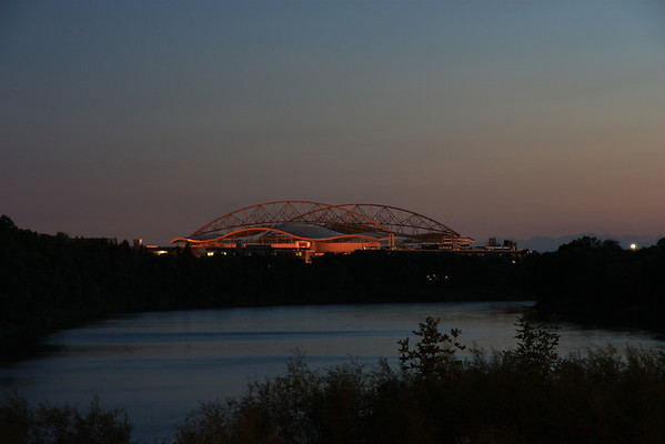 Investors Group Field from River Road