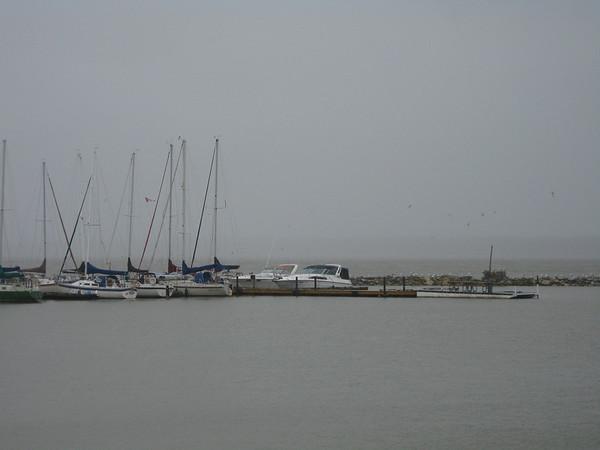 Hecla Island on a Rainy Day