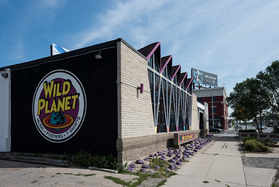 DAVID LIPNOWSKI / WINNIPEG FREE PRESS  Wild Planet photographed Sunday August 19, 2018. The building was once a church.