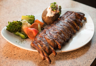 DAVID LIPNOWSKI / WINNIPEG FREE PRESS  Silver Heights Restaurant celebrates its 60th anniversary this year. Ribs photographed February 17, 2017.   David Sanderson intersection story