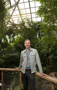 DAVID LIPNOWSKI / WINNIPEG FREE PRESS  Project director for Canada's Diversity Gardens Gerald Dieleman photographed in the Assiniboine Park Conservatory Friday February 17, 2017. Canada's Diversity Gardens will be replacing Assiniboine Park's aging Conservatory in fall 2019.  Jen Zoratti story.