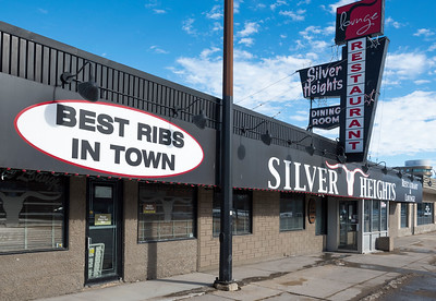 DAVID LIPNOWSKI / WINNIPEG FREE PRESS  Silver Heights Restaurant celebrates its 60th anniversary this year. Photographed February 17, 2017.   David Sanderson intersection story