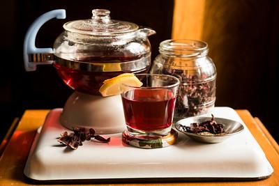 DAVID LIPNOWSKI / WINNIPEG FREE PRESS  Romantically Ruby Red Hibiscus Tea  Photographed for Wendy King column Monday February 6, 2017.