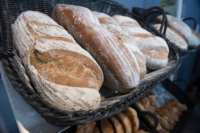 DAVID LIPNOWSKI / WINNIPEG FREE PRESS   French breads and pastries at La Belle Baguette photographed Tuesday January 17, 2017.