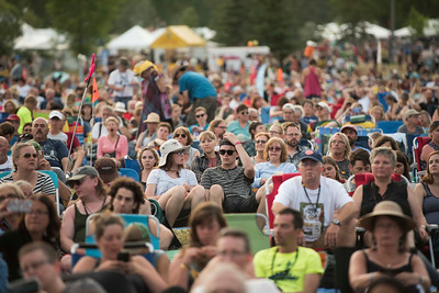 DAVID LIPNOWSKI / WINNIPEG FREE PRESS   People enjoy Folk Fest at Birds Hill Park Sunday July 10, 2016.