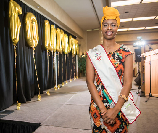 DAVID LIPNOWSKI / WINNIPEG FREE PRESS  Danielle Archer is the 2016 Youth Ambassador General and is photographed at a Folklorama media call at the RBC Convention Centre Thursday July 21, 2016.