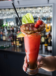 DAVID LIPNOWSKI / WINNIPEG FREE PRESS  After Dark Lounge's Caesar, photographed Tuesday May 9, 2017 for National Caesar Day, which falls on May 18.  Dave Sanderson story